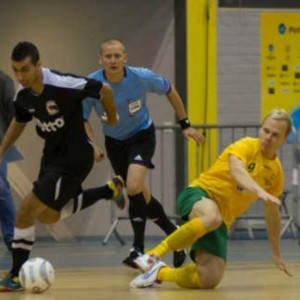 A question I keep getting asked - 'can you shoulder barge at futsal?'