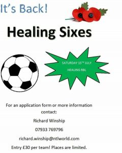 Healing Sixes are Back