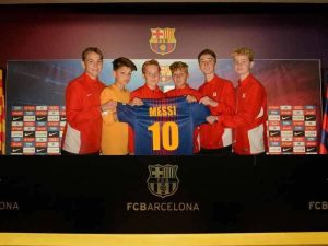 Sam Vincent report on Meglio U/14's journey to play FC Barcelona