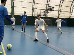 Ex Grimsby League and GTFC Futsal Scholarship players make their debuts for Loughborough University