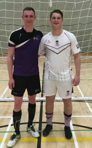Two Grimsby university stars play against each other