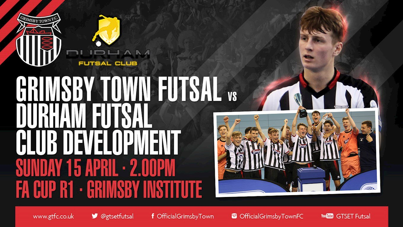 Grimsby Town Futsal vs. Durham Futsal Development. Sunday 15th April