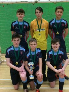 Toll Bar school are Lincolnshire County FA Futsal Champions 2018