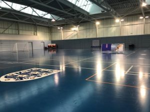 Meglio u14 trail blazing name of Grimsby Futsal