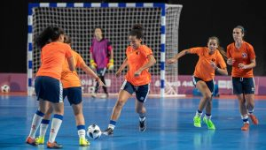 FUTSAL WILL MAKE ITS DEBUT AT THE YOUTH OLYMPIC GAMES BUENOS AIRES 2018, AS IT REPLACES THE 11-A-SIDE GAME WHICH WAS CONTESTED AT THE FIRST TWO EDITIONS, AT SINGAPORE 2010 AND NANJING 2014.