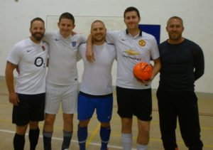 Wednesday Premier League teams deliver a futsal fiesta with big 3 - Franklin; Bradley & Me2 taking maximum points