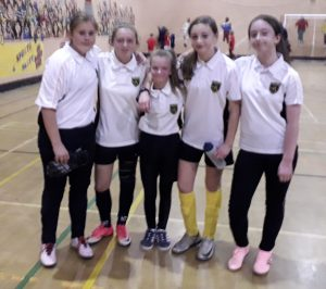 Wybers u12 Girls show a flair for futsal