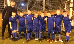 Immingham U10 win the Grimsby Futsal League 'B' league after going the duration without losing