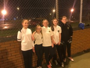Wybers Girls become first team to win a competative Grimsby Futsal League match