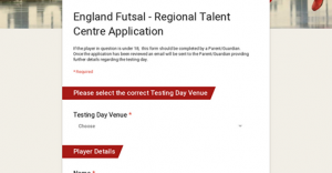 Is your player exceptional? If so consider completing the attached form
