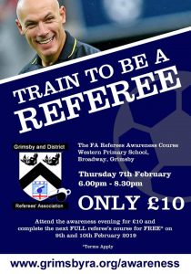 Football/Futsal always needs referees, your next course is...................................