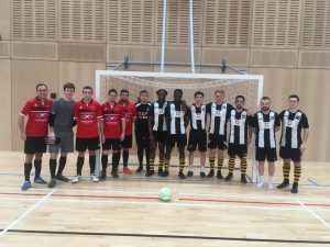 Great that Grimsby took a team over to Hull to train with and against Hull inpreparationfor Hull's next round of FA Futsal Cup.