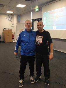 Dr Daniel Berdejo-del-Fresno delivers a Sheffield FC Futsal Coaching Master Class