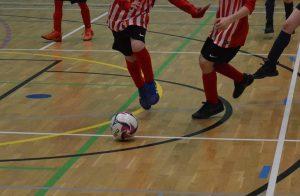 Futsal splits eleven aside team into fast & not so fast thinkers