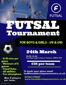 Under 9/10 Futsal Tournament