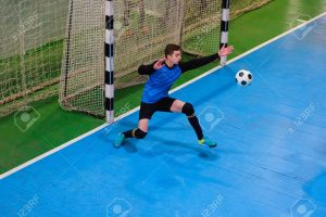 Futsal GoalKeeping Skills being Transferred to Football