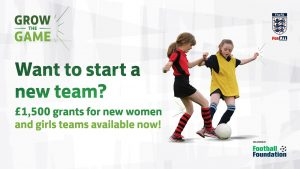 FA Foundation Funding for Female & Disability teams. Create that new futsal team Now!