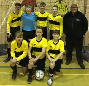 Great picture of Galacticos u15s in new kit. Team sits proudly top of 12 team league