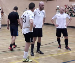 Grimsby senior players taking futsal to a new level