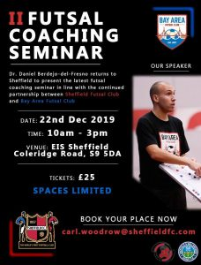 A Not to be Missed Futsal Coaching Seminar - Courses like this are the Way Forward for Your Player Development