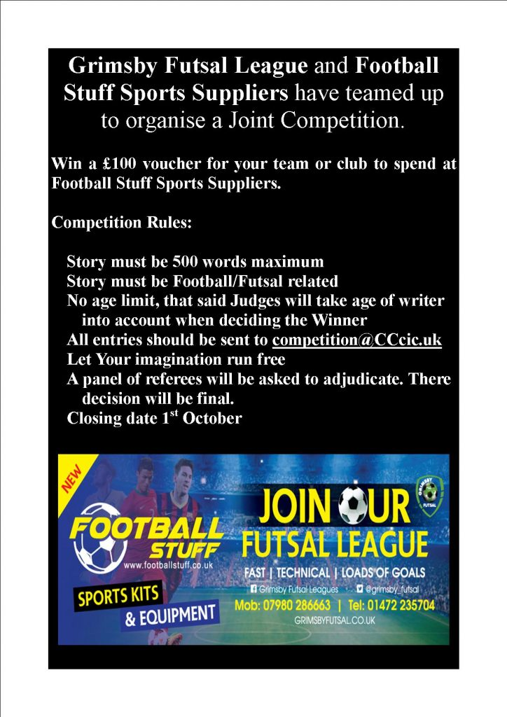 Win a £100 Voucher to spend with Football Stuff Sports Suppliers - Details...