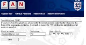 Never had an FA 'Fan Number'?  Need an FAN Number?