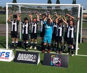 Discoveries Eagles U/11 York's/Lincs Futsal Super Cup Champions