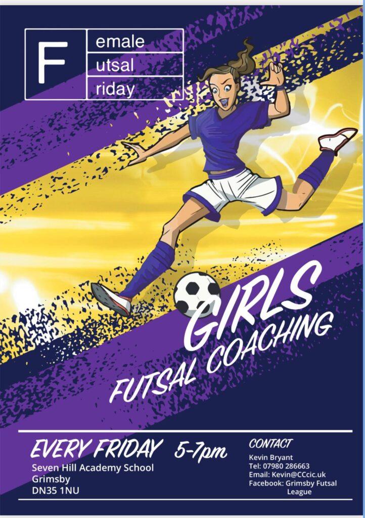 Female Futsal Friday - Share the Message