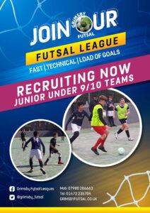 New 9/10 Junior Futsal League - Thursday @ Seven Hills Academy School